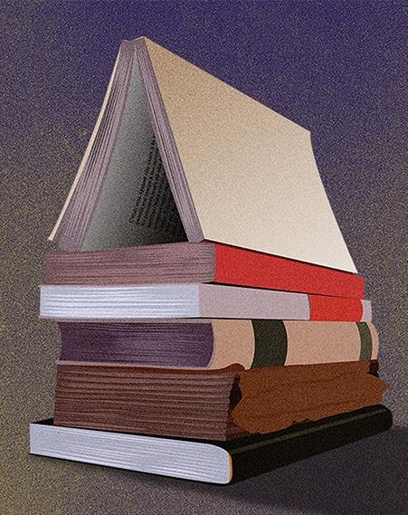 Illustration livre-maison - Le Comptoir des Lecteurs