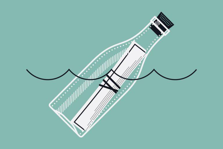 Le secret de la bouteille à la mer